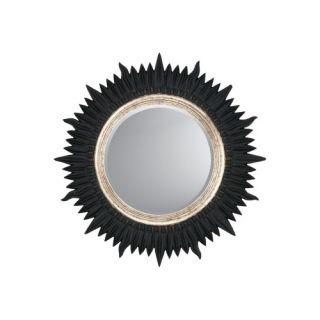 Sunburst Mirrors Modern Wall Mirror, Metal & Wood