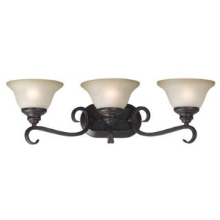 Kenroy Home Welles Vanity Light in Oil Rubbed Bronze   80473ORB