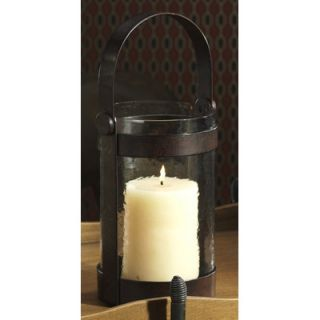 Barclay Butera Lifestyle Equestrian Wrought Iron and Glass Lantern