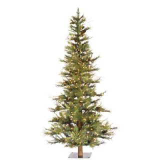 Vickerman Ashland Fir 6 Artificial Christmas Tree with Clear Lights