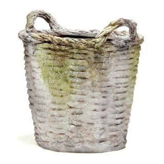 OrlandiStatuary Round Basket Planter