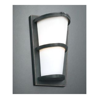 PLC Lighting Alegria Outdoor Wall Lantern   31912 Matte Opal ORB