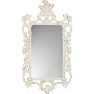 Paragon White Ornate Traditional Wall Mirror