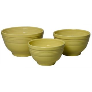 Fiesta® Scarlet 3 Piece Baking Bowl Set