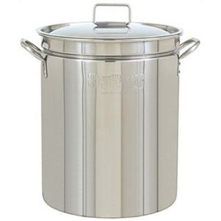 Bayou Classic Stainless Steel All Purpose Stockpot with Lid