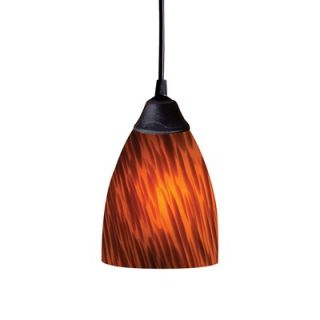 Elk Lighting Classico 1 Light Mini Pendant