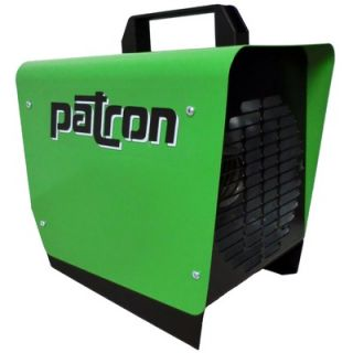 Patron E Series 120V Electric Heater in Green