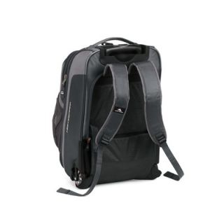 High Sierra AT6 22 Carry On Rolling Backpack