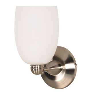 George Kovacs Sconces Wall Sconce in Brushed Nickel   P214 00 084