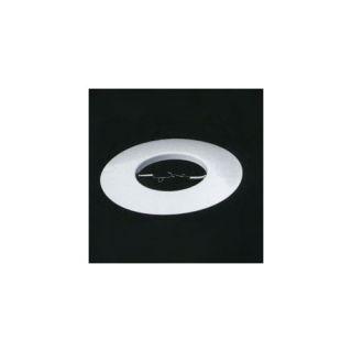 Open Ring Recessed Lighting Trim in White