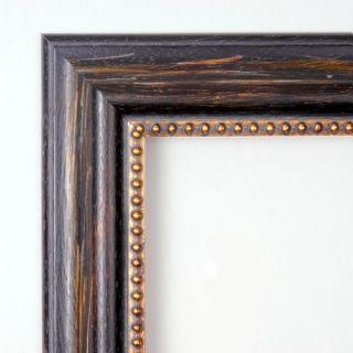 Amanti Art Tuscan Large Mirror in Distressed Black   DSW01028
