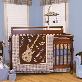 Rockstar Crib Bedding