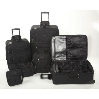 Geoffrey Beene 6 Piece Luggage Set