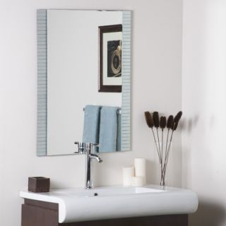 Decor Wonderland Sam Frameless Wall Mirror   SSM5039 3