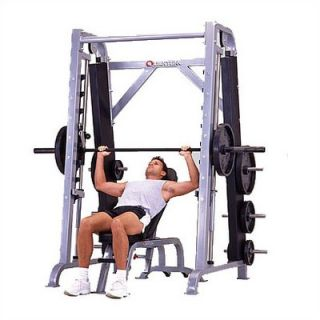 Impact Commercial Angled Smith Machine with Plate Storage   QWT 136