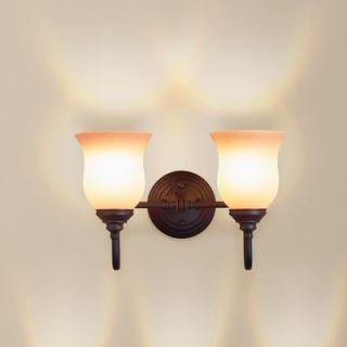 Eurofase Renfrew Two Light Vanity Light in Oil Rubbed Bronze   15813