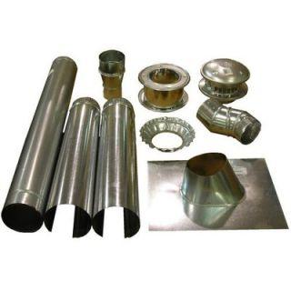 Mr. Heater 4 Vertical Vent Kit for Garage Unit Heater   F102848