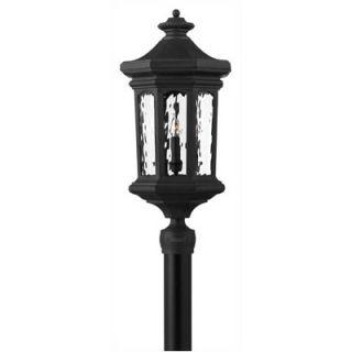 Hinkley Lighting Raley Post Lantern in Museum Black   Energy Star