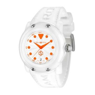 Glam Rock Womens Crazy Sexy Cool Guilloche Round Watch   GR61009