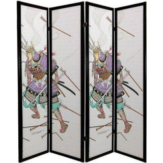 Oriental Furniture Samurai Shoji Decorative Room Divider   SSCSAM X