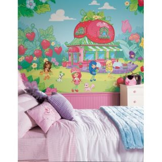Room Mates XL Murals Strawberry Shortcake Wall Decal