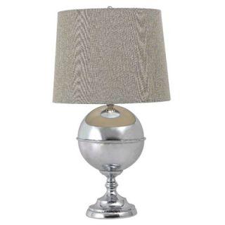 Kenroy Home Atlas Table Lamp in Chrome