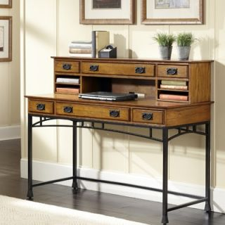Home Styles Modern Craftsman Executive Desk with Hutch   5050 152