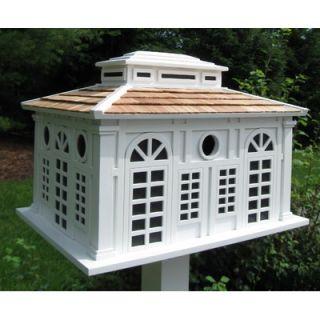 Home Bazaar Signature Series Garden Pavilion Large Bird House   HB