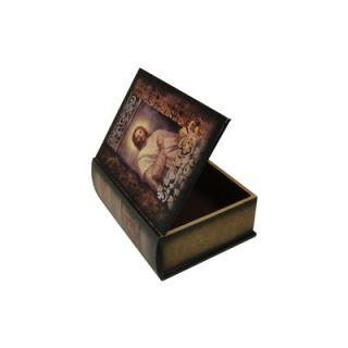 Keystone Intertrade Inc. Jesus Painting Design Book Box (Set of 2