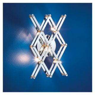 Eurofase Vex Five Light Wall Sconce in Chrome   16467 019