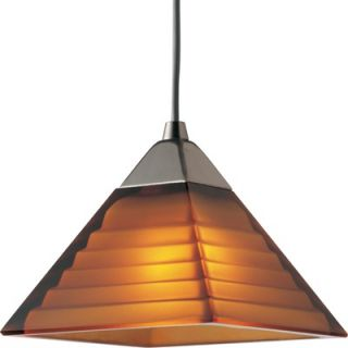 Progress Lighting Illuma Flex 1 Light Pyramid Mini Pendant