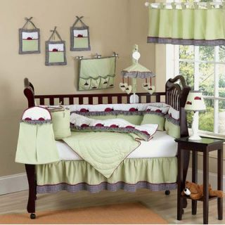 Sweet Jojo Designs Ladybug Parade Crib Bedding Collection