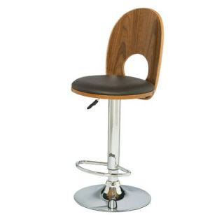 Leick Favorite Finds Mousehole Adjustable Swivel Stool in Espresso