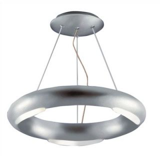 Kenroy Home Annello 3 Light Semi Flush Mount   90864SIL