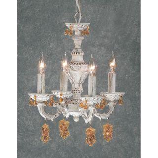 Classic Lighting Gabrielle 4 Light Mini Chandelier