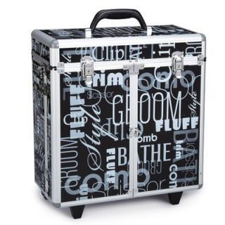 Top Performance Grooming Tool Case with Wheels in Graffiti Black