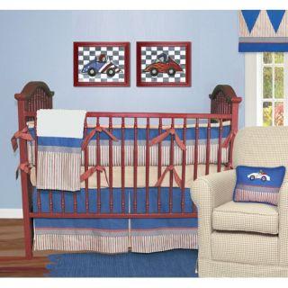 Sweet Jojo Designs Frankies Firetruck Crib Bedding Collection