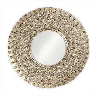 Howard Elliott Symphony Mirror with Silver Finish