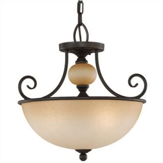 Sea Gull Lighting Montclaire 3 Light Pendant   51105 72