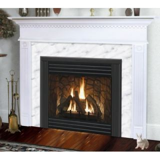 Hearth and Home Mantels Light Finish Sienna Flush Fireplace Mantel