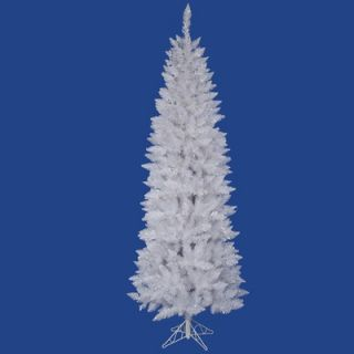 Vickerman Crystal White Spruce 7.5 Pencil Artificial Christmas Tree