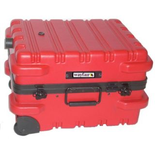 Chicago Case Chicago Case Premium Military Tool Case in Red with