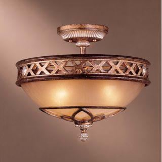 Minka Lavery Ashton Court 3 Light Semi Flush Mount   1757 206
