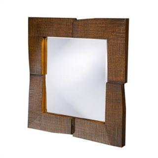 Howard Elliott Hayward Wall Mirror in Oak Finish