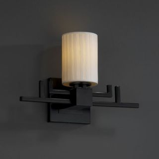 Justice Design Group Limoges Aero One Light Wall Sconce with