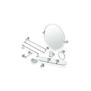 Creative Specialties by Moen Iso 5 Piece Bathroom Accessory Set