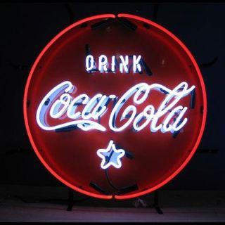 Neonetics Coca Cola Coke Neon Sign in Red and White