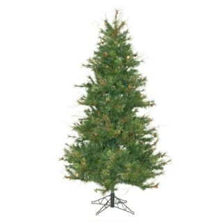 Vickerman Mixed Country Pine 7.5 Slim Artificial Christmas Tree