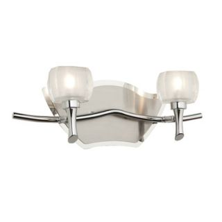Artcraft Lighting Monroe Two Light Wall Sconce in Durable Brushed