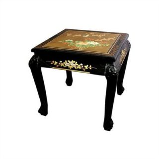 Oriental Furniture Chinese End Table   LCQ 212
